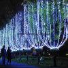 Éclairage populaire de type d'arbre de Noël de décoration blanche extérieure d'arbre