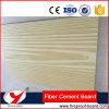 Доска цемента волокна деревянного пожара зерна цветастого Rated