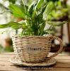 (BC-WF1027) respetuoso del medio ambiente natural hecho a mano del sauce cesta de la flor
