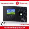 Tempo del lettore dell'impronta digitale RFID e sistema di presenza