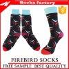 Оптовые черные и красные носки платья с высоким качеством