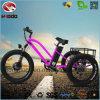 rueda eléctrica 3 Bicicleta del triciclo trasero del motor 500W
