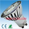 3x1watt lampadina del punto di alto potere LED, luci del punto di GU10/MR16/E27 LED