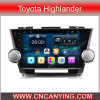 Zuivere Android 4.4 Car GPS Player voor Toyota Highlander met A9 cpu 1g RAM 8g Inand 10.1  GPS Bluetooth van Capacitive Touch Screen (advertentie-1020)