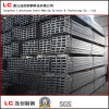 tubo de acero rectangular negro de 100mmx50m m