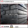 100mmx50mm tubo de acero rectangular negra