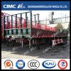 Cimc Huajun 3axle Cargo Fence Trailer con Bigger Front Frame