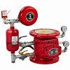Válvula de cheque mojada de la alarma de la lucha contra el fuego de la válvula de alarma de Zsfz