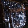 Luz da cortina do casamento do diodo emissor de luz para a decoração do jardim da HOME do feriado do Natal