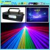 mostra do laser da cor de 4W RGB com efeitos de animação