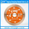 Disco de corte de diamante soldado de 350 mm para corte de asfalto