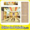 Revestimento revestido da parede do aço inoxidável da cor moderna interior para o hotel