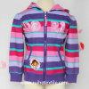 Beiläufiges Stripe, Print, Cotton Fleece Jacket für Girls