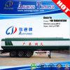 Trois essieux 60000 litres d'essence diesel de semi-remorque de camion-citerne