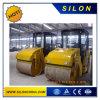 중국 Lutong 6 톤 두 배 드럼 진동하는 롤러 쓰레기 압축 분쇄기 (Ltc6)