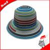 Chapéu da cubeta do chapéu de Sun da fita do arco-íris