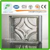 mattone di vetro di parallelo della radura di 190*190*80mm/blocco di vetro