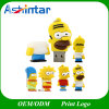 Lecteur flash USB de PVC de dessin animé de la famille USB Pendrive de Simpson