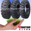 Gummireifen-Hersteller-Zubehör-verschiedener fester Reifen, Gabelstapler-Gummireifen