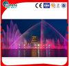 Fonte de água ao ar livre ou interna colorida da música para o lago ou o edifício de compra