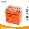 Batteries d'accumulateurs de Motorcyle de gel Yb10L-BS 12V11ah avec le conteneur orange d'ABS