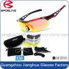 Aduana con estilo al por mayor confiable de la reproducción del diseñador de Shattproof sus gafas de sol de la compra del bulto de la marca de fábrica con 5 lentes permutables