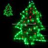 De LEIDENE van de boom Lichte Decoratie van Kerstmis