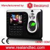 Realand生物測定RFIDのカードおよび指紋の時間出席システム