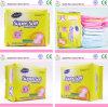 Serviettes hygiéniques organiques confortables de coton de femmes