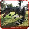 Dinosaurio Animated hecho a mano de las atracciones del parque del dinosaurio