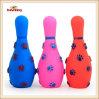 Giocattolo stridulo del cane bello di bowling del giocattolo del vinile dell'animale domestico (KB1047)