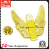 Hersteller kundenspezifisches Flügel-Form-Metallreverspin-Abzeichen