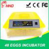 Incubadora automática transparente Ew-48 del nuevo diseño pequeña para el huevo para incubar