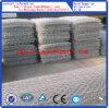 Cesta revestida del PVC Gabion del color gris