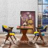 Correspondência de cores entre o restaurante de madeira escura mesa e cadeira (SP-CT788)
