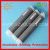Tubo di gomma dello Shrink del silicone nero senza tubazione fredda dello Shrink di calore