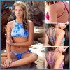 높은 목 여자 수영복 형식 비키니 Beachwear