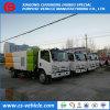 Camion di pulizia della strada di vuoto del fornitore 4X2 Isuzu con le spazzole della spazzatrice