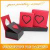 Cartulina de papel de encargo del rectángulo de regalo que empaqueta para las ventas al por mayor de la joyería