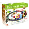 DIYの知性の教育子供の磁気おもちゃのトレインは75 PCSをセットした