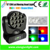 1 Mini LED Moving Head에 대하여 12X12W RGBW 4