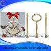 Gâteau de Nice Stand d'alimentation de l'outil métallique avec céramique Pan