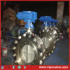 Triple flangiato Eccentric Butterfly Valve con Mating Bolt&Nut