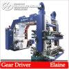 Machine d'impression flexographique haute vitesse 4 couleurs