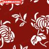 Motif de fleurs trempés à chaud en acier galvalume bobine (PPGI PPGL GI GL)