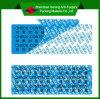 Escrituras de la etiqueta parciales adhesivas de la transferencia del lacre vacío del Alto-Residuo