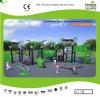 Установленная спортивная площадка напольных детей Kaiqi среднего размера - имеющеся в много цветов (KQ35018A)