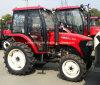 Tracción en las cuatro 55hp Tractor agrícola de ruedas