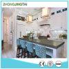 Проектированное Black Quartz Stone Laminate Countertops для Kitchen и ванной комнаты