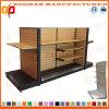 Prateleira de madeira personalizada nova da loja do supermercado (Zhs254)